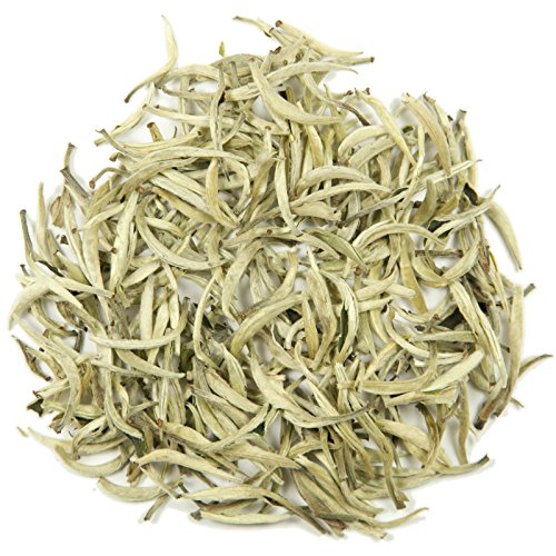 (Silver Needle Loose Leaf Tea - Hong Kong Tea Company Sourced Premium AAA Grade Fine White/Green Tea -)