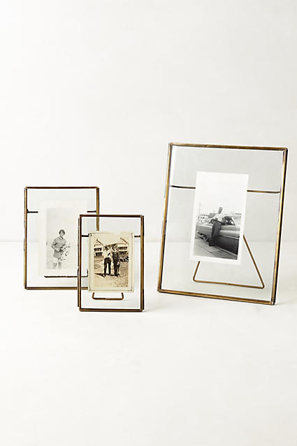 Pressed Glass Photo Frame - anthropologie.c​om