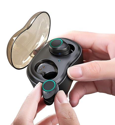 TWS-X9 Auriculares Bluetooth Touch Auriculares inalámbricos, 3D ...