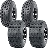 19X7 8 P327 & 18X9.5 8 P316 4PLY SPORT OCELOT NON DIRECTIONAL ATV TIRES (4 PACK)