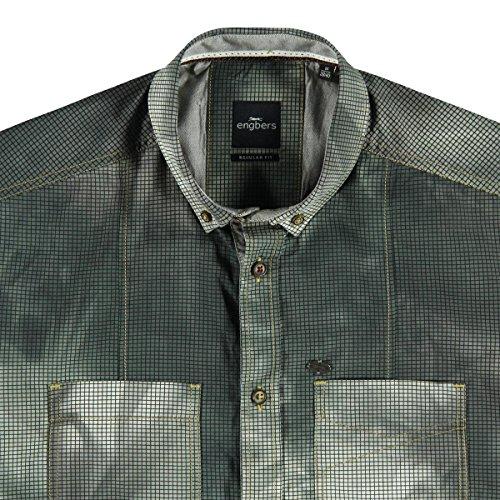 engbers Herren Hemd kurzarm, 23751, Grau