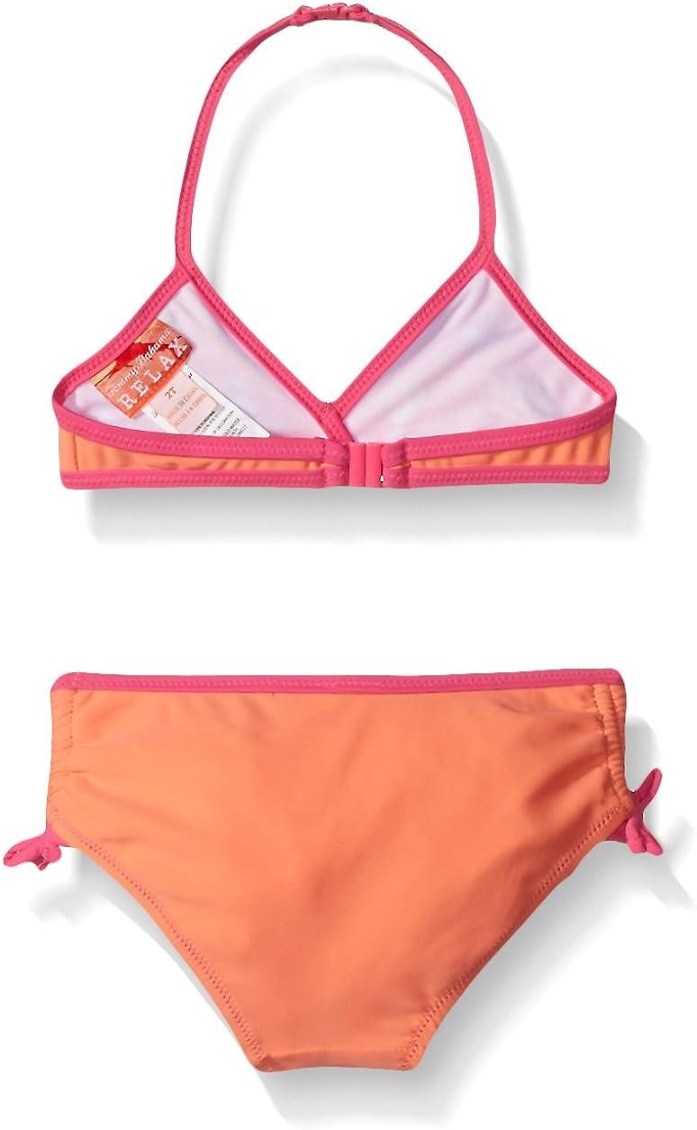 Tommy Bahama Girls Pineapple Two Piece Bikini Swimsuit