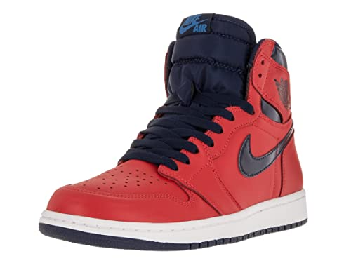 Nike Mens Air Jordan 1 Retro High OG BG  quot Letterman quot  Light Crimson  5ca1438c4