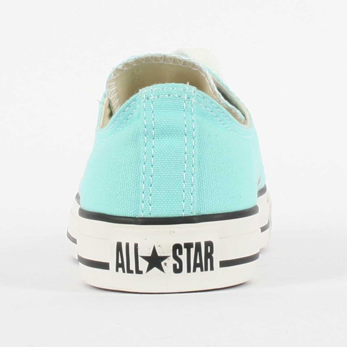 c3f60d2e6101 Converse Unisex Chuck Taylor All Star Low Top Aruba Blue Sneakers - 8 B(M)  US Women   6 D(M) US Men - 130118F   Fashion Sneakers   Clothing