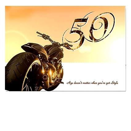 DigitalOase 50 Tarjeta de felicitación Tarjeta de cumpleaños ...