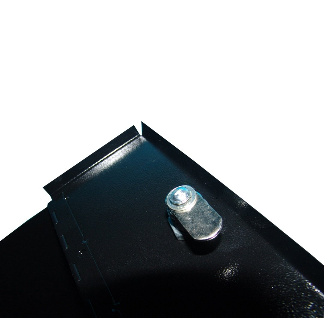 FixtureDisplays Metal Donation Suggestion Key Drop Box Express Checkout Comments sales lead box 11118-BLACK