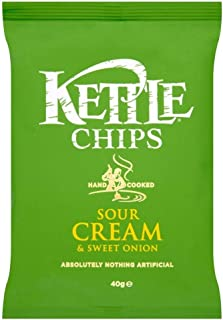 product image for Kettle Chips - Sour Cream & Sweet Onion (150g)