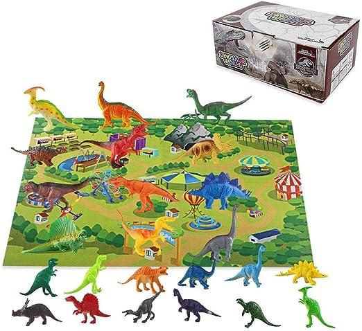 Juego De Juguetes De Dinosaurios, Paquete De 24 Figuras De ...