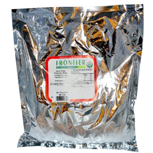 Frontier Natural Products organique racine de valériane Cut & tamisée - 16 oz