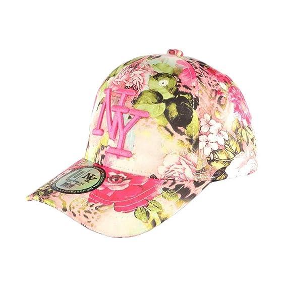 Hip Hop Honour - Gorra Infantil, Color Rosa y Beige Rosa Talla ...