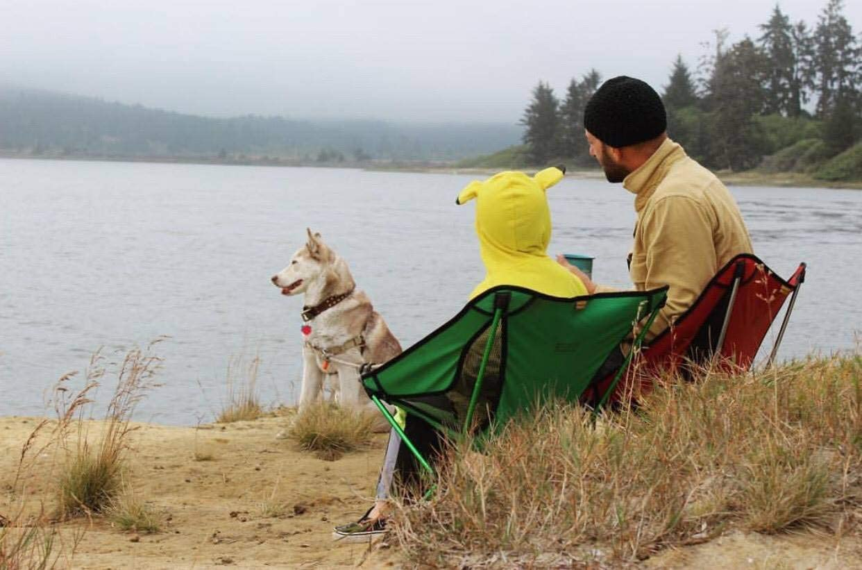 Plegable TREKOLOGY YIZI GO Silla de Camping port/átil Picnic Plegable Senderismo Silla Plegable Ultraligera compacta Campamento en una Bolsa para Exteriores Plegable Ligera
