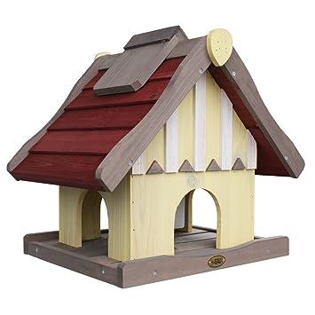 Habau 1796 Vogelhaus Norwegen Mit Silo Und Stander Habau Gmbh
