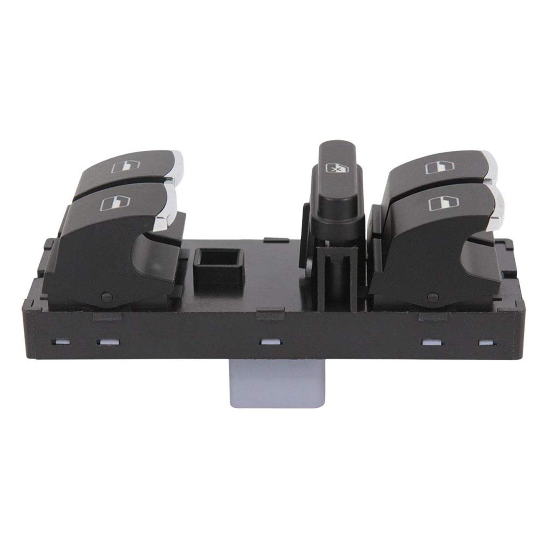 Interrupteur Principal de Vitre /électrique /à Remplacer pour Fabia Roomster Superb OE:5J0959858A 5J0 959 858 A Interrupteur de Commande de Levier de Commande /électrique