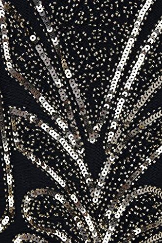 Dco Art Inspir 1920 Femmes Charleston PrettyGuide Or Vintage cocktail Perl robe de qIdZXqwY