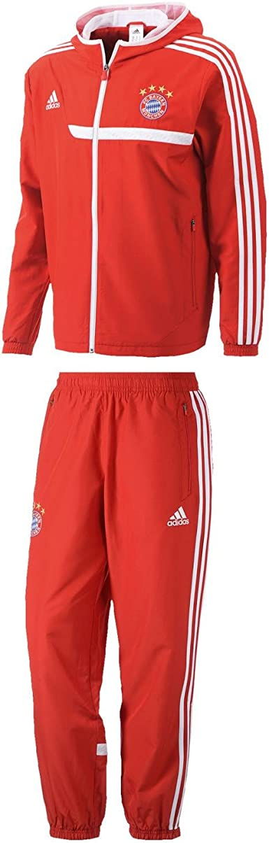 adidas performance SurvêtementJogging Fc Bayern Munchen Jr Rouge