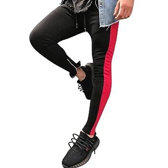 3118c0d33b079 Moonuy Homme Pantalon Jogging Sarouel Survêtement Sweat Pants Sport Longue  Slim Fit Casual Sport en Coton