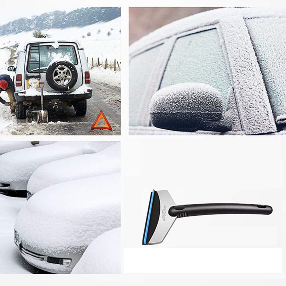 Escoba de Nieve rascador de Hielo Parabrisas para Coche SUV cami/ón DokFin rasqueta de Hielo Coche