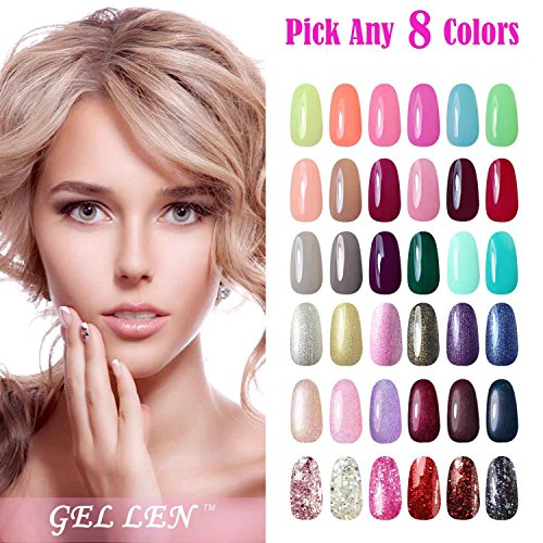 pick any uv gel nail