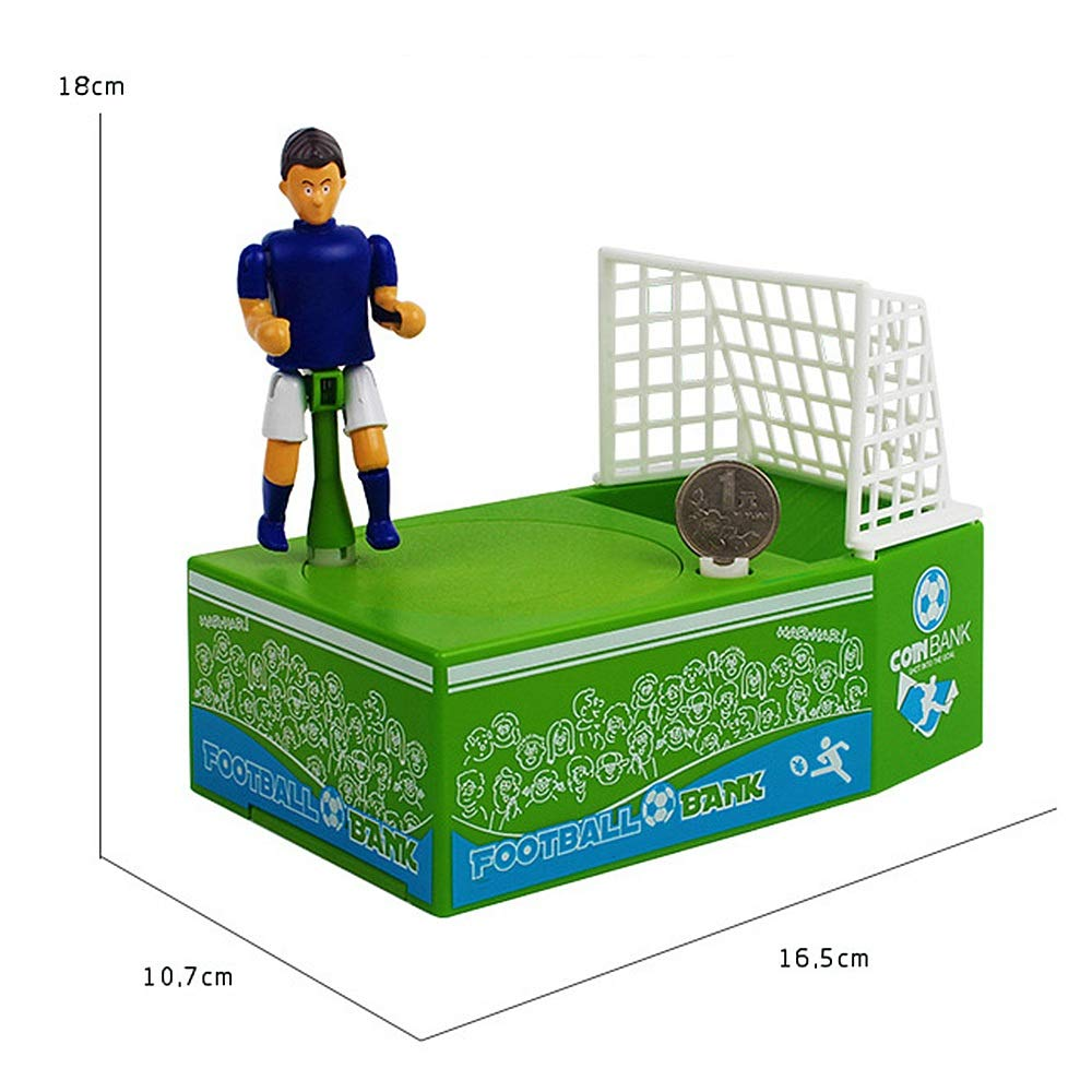 Amazon com : WEALTH Football Palyer Game Toy Shooting Bank