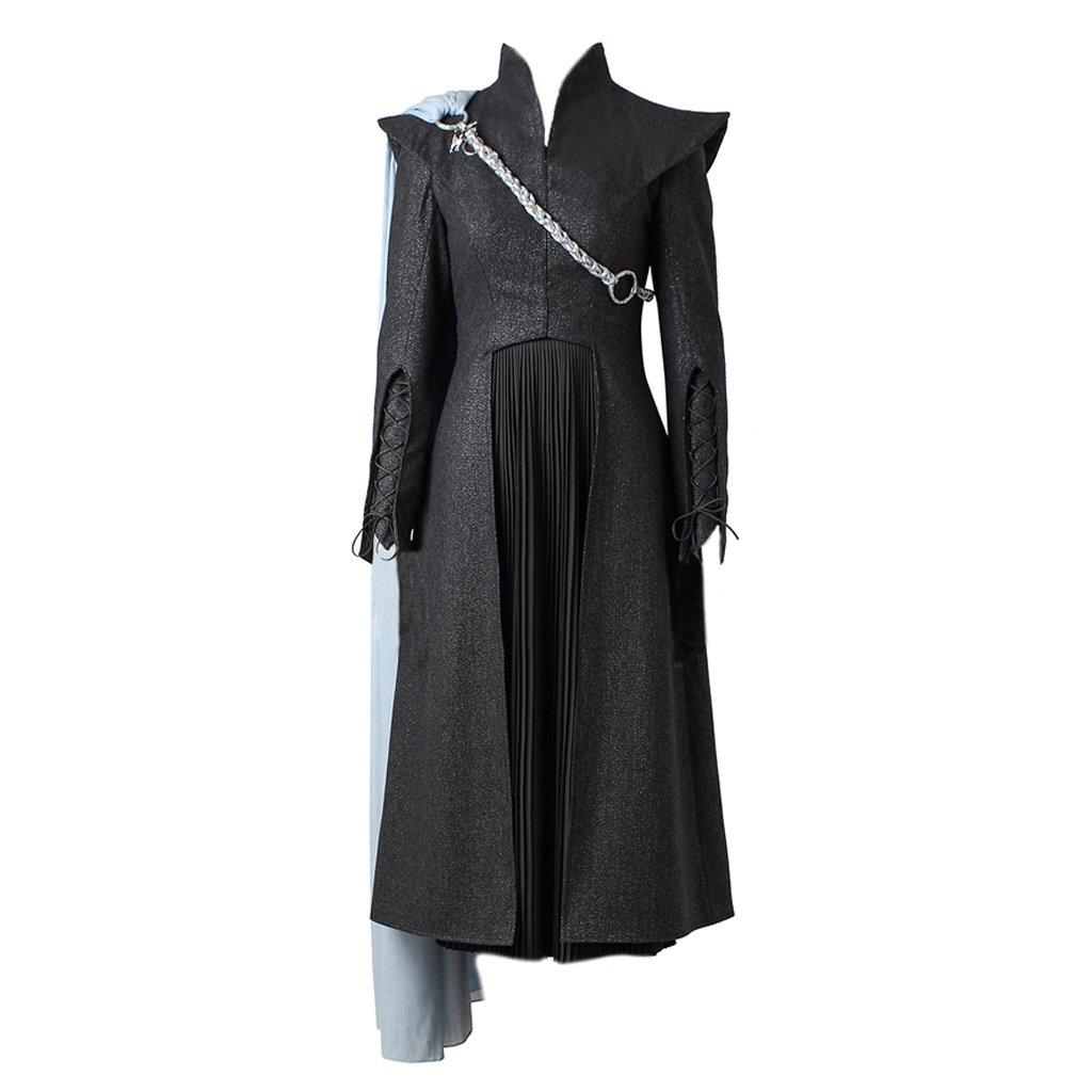 CosplayDiy Women's Suit For Game Of Thrones VII Daenerys Targaryen Cosplay With Cloak M
