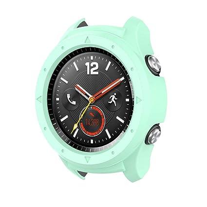 Mamum Funda de Silicona para Huawei Watch 2 ,Cubierta de la ...