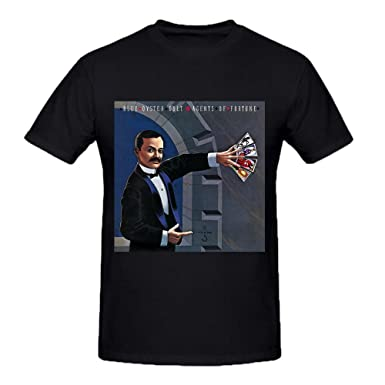Blue Oyster Cult Agents Of Fortune Mens T Shirts Design Crew Neck ...