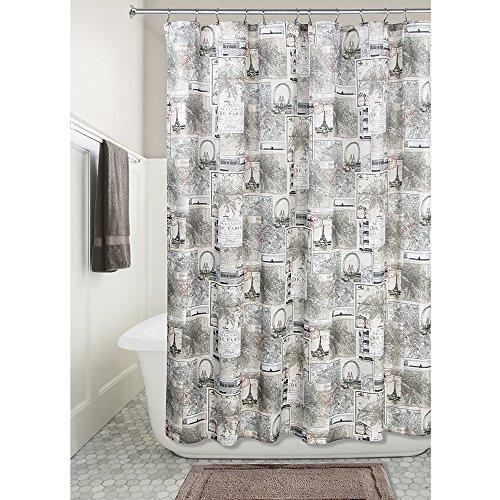 InterDesign Paris Fabric Shower Curtain product image