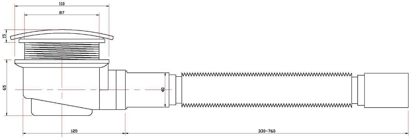 dessins assortis disponible en 10/Variations et diff/érentes tailles de 50 120/cm Kobert Goods Caniveau d/écoulement G022//écoulement de douche en acier inoxydable avec siphon de sol et Bonde douche