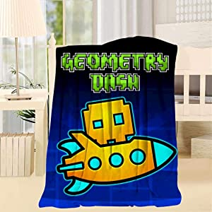 FG7SS6AA5 Airplane Geo-metry Super Soft Blanket Fleece Throw Fuzzy Lightweight Cozy Plush Bedding Couch Home