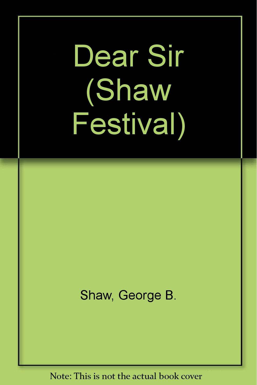 Dear Sir (Shaw Festival)