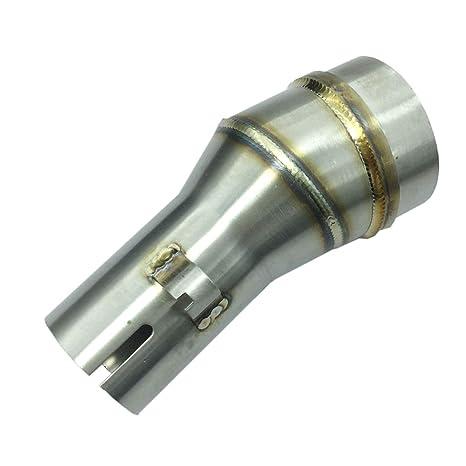 Amazon com: ZAIXU Inlet 35mm 51mm Motorcycle Exhaust Pipe