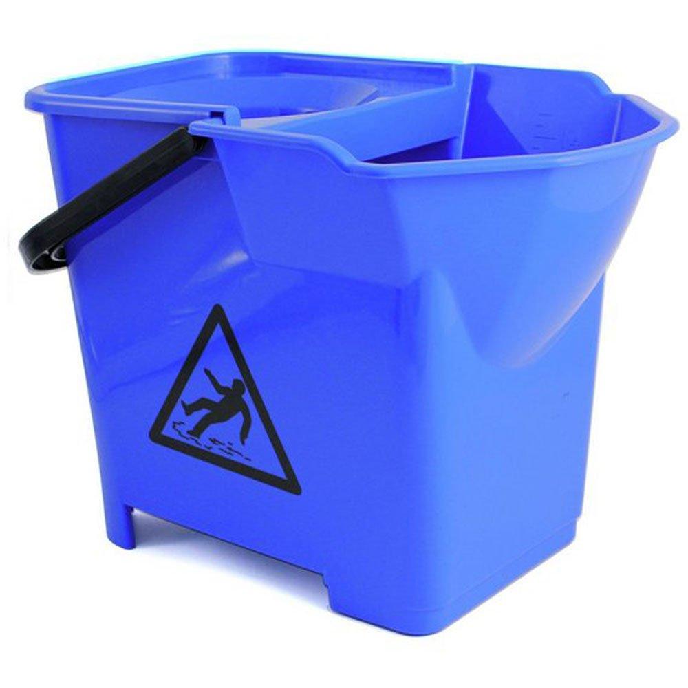 Janilec Heavy Duty Mop Bucket Blue 16 Litre CL016-B