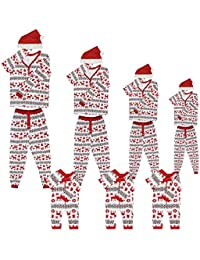 Matching Family Pjs Christmas Entire Family Jammies Cotton Pajamas Sets Best Kids Sleepwear For Toddler Girls Boys Adult Women Cute Shirts Pants Xmas Ladies Mother Daughter Cool Stripes Nightwear