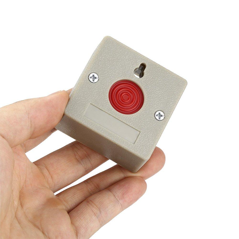 Amazon.com: Zerodis SOS - Botón de pánico con cable de 24 V ...
