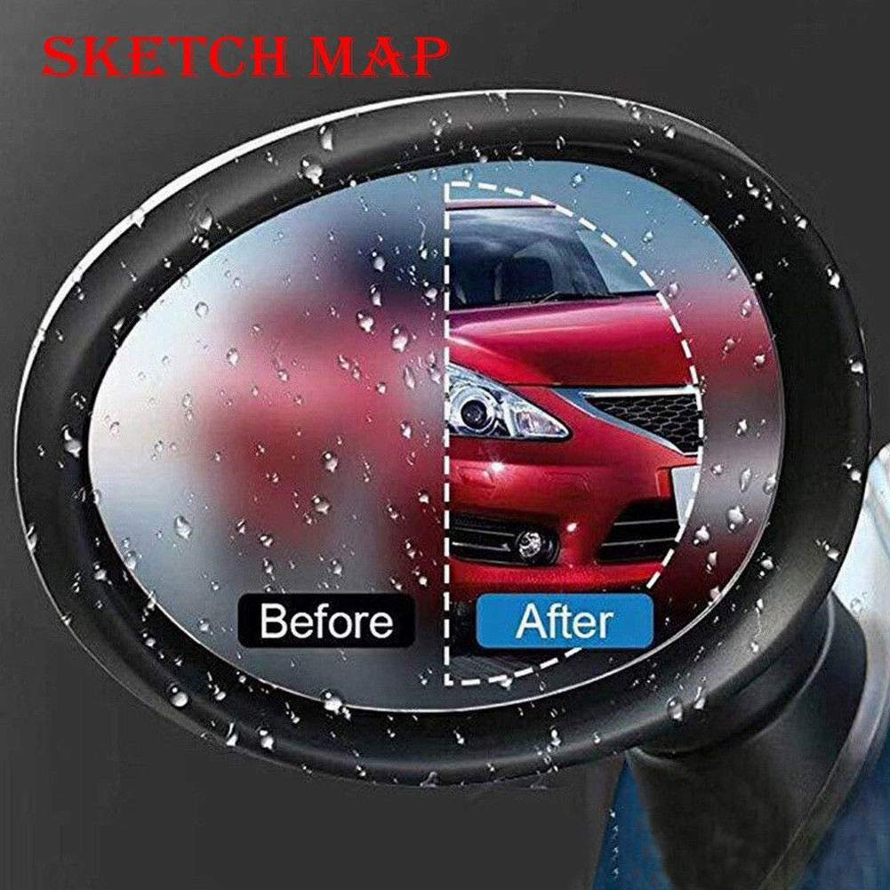 Mioloe Anti Fog Clear Car Rearview Mirror Window Protector Film Accessories Mirror Rainproof
