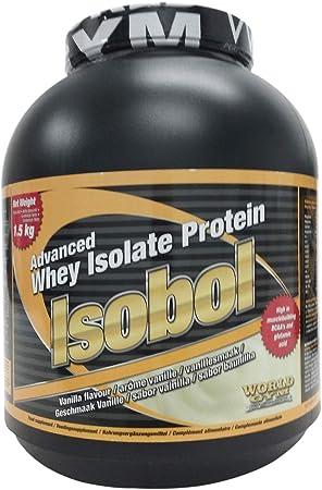 World Gym ISOBOL - vainilla - 1,5kg: Amazon.es: Salud y ...