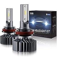 Deals on Sealight H11/H8/ H9 LED Headlight Bulbs Conversion Kit