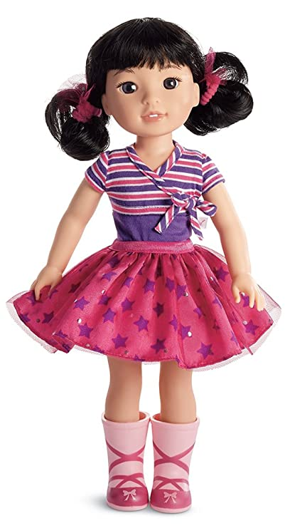 7cce70404d Amazon.com: American Girl WellieWishers Emerson Doll: Toys & Games