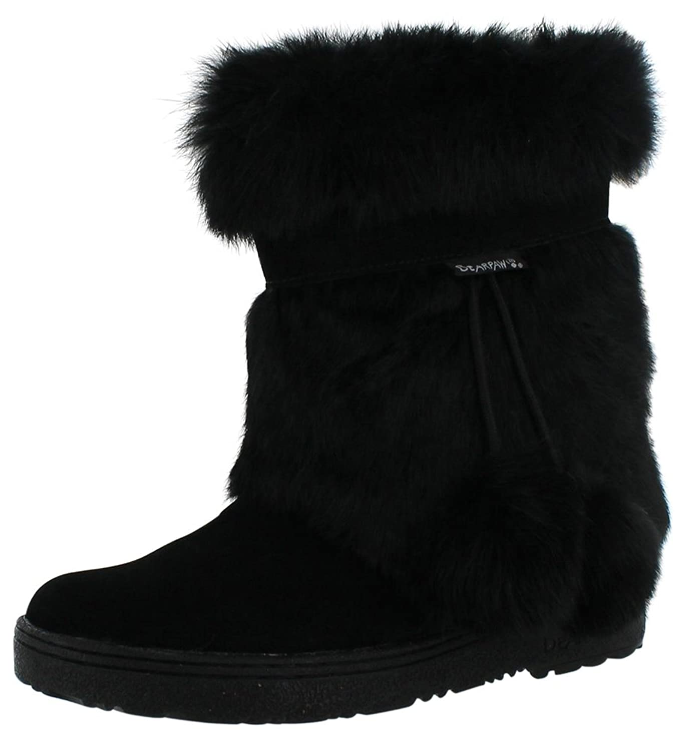 Bearpaw Women's Tama Rabbit Fur Boots