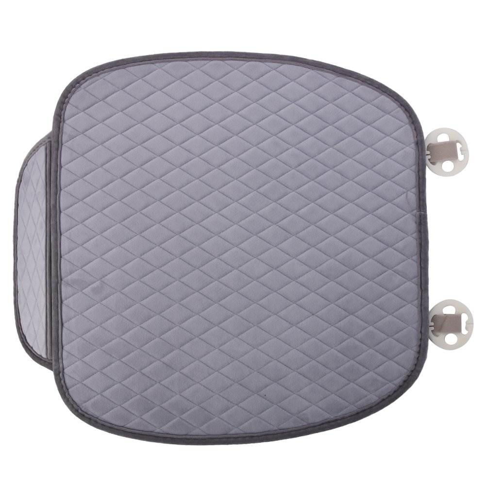 Gray Car Seat Protector Mat Auto Front Cushion Eat Covers Non-slip Keep Warm Cover Breathable Thickening,comfortable And Classic