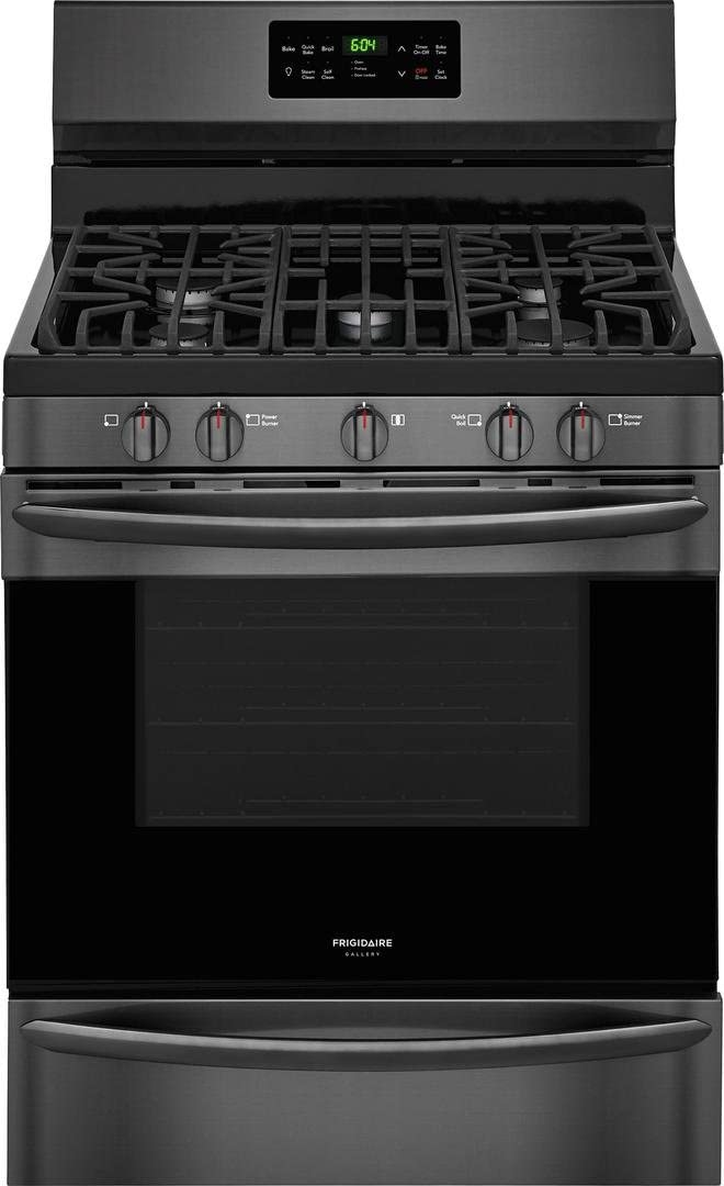 FGMV176NTD 30Over the Range Microwave FGID2466QD 24Built In Dishwasher in Black Stainless Steel Frigidaire 4 Piece Kitchen Package FGHB2867TD 36French Door Refrigerator,FGGF3036TD 30Gas Range