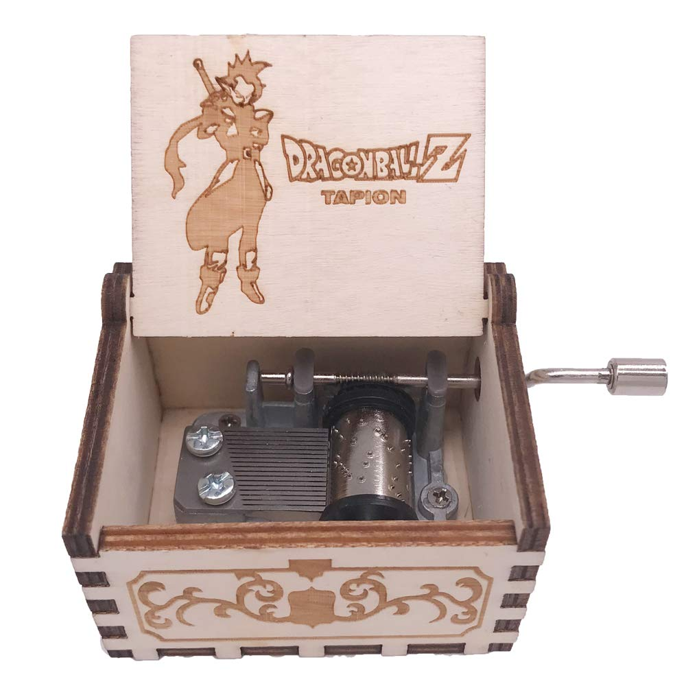 Dragon Ball Music Box Hand Crank Musical Box Carved Wood Musical Gifts,Play Dragon Ball Z-Tapion Theme Shenzhen Youtang Trade Co. Ltd QLZ