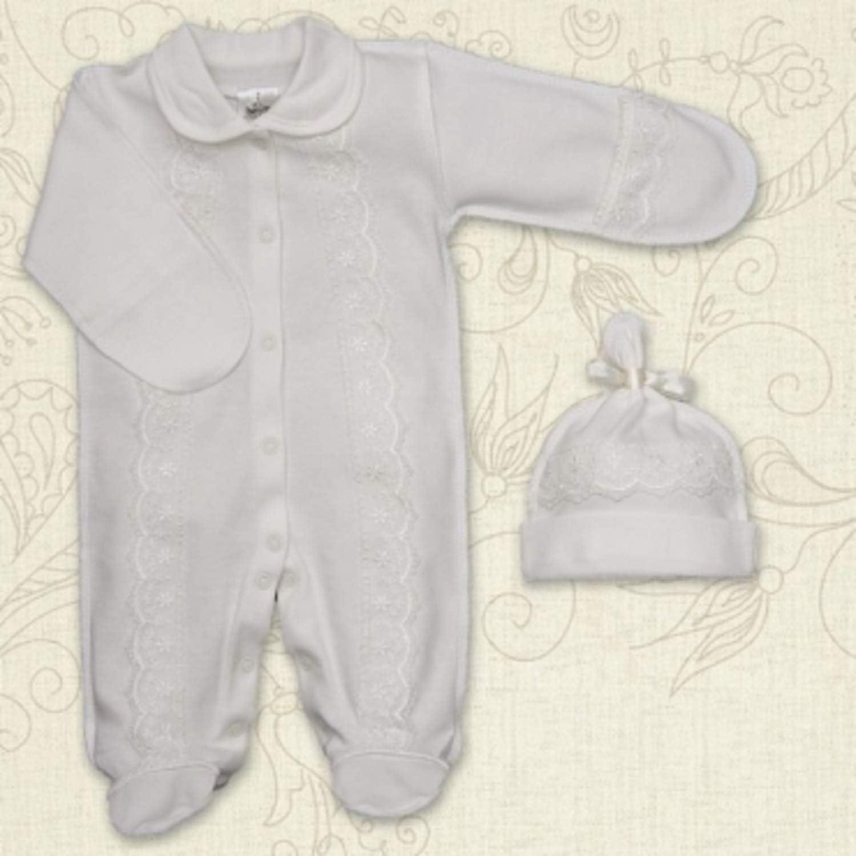 Baby Boy Bodysuit Handmade Baby Boy Outfit Baptism Cotton Clothes Newborn Romper