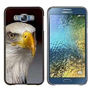 TECHCASE---Cubierta de la caja de protección para la piel dura ** Samsung Galaxy E7 E700 ** --águila América del oro nacional la libertad de aves
