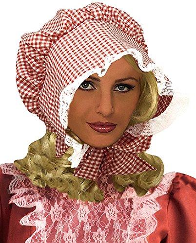 (Forum Novelties Red Checkered Prairie Hat)