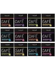 VIAGGIO ESPRESSO - 120 capsules de café compatibles avec Nespresso.