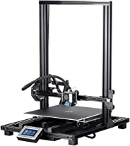Monoprice MP10 3D Printer - Black with (300 x 300 mm) Magnetic Heated Build Plate, Resume Printing Function, Assisted Leveli