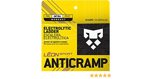 Amazon.com: LEON SPORT ANTICRAMP - Salt Tablets and Salt Pills for Runners and Cyclists - Electrolytes Tablets (10 Caps, Salt Capsules): Health & Personal ...