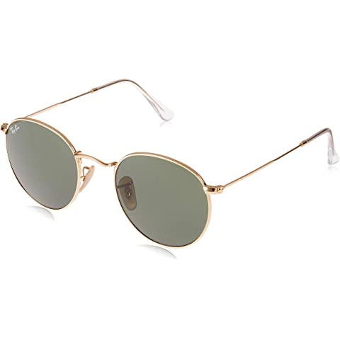 1bb0acaa9e6 Amazon.com  Ray-Ban Round Metal 0RB3447N Round Sunglasses  Clothing
