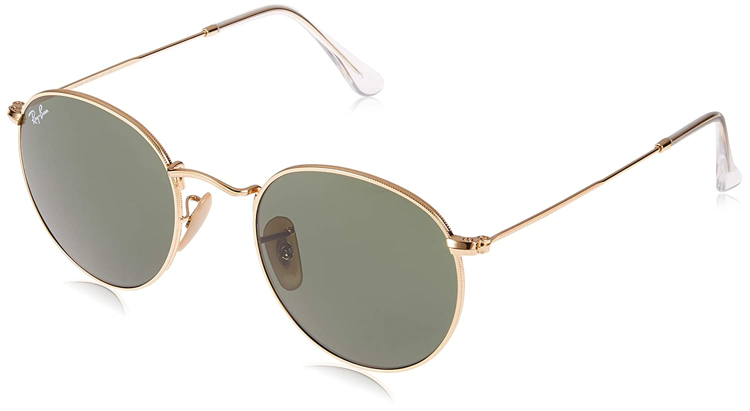 dff09b522 Ray-Ban 3447 001 Gold 3447 Round Sunglasses Driving Lens Category 4 Size  50: Ray-Ban: Amazon.ca: Shoes & Handbags